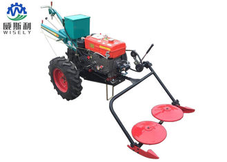 China Diesel Walk Behind Tractor Two Wheel Tractor Mower Corn harvester supplier