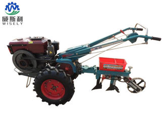 China Small Hand Walk Behind Tractor Single Row Planter Walking Tractor supplier