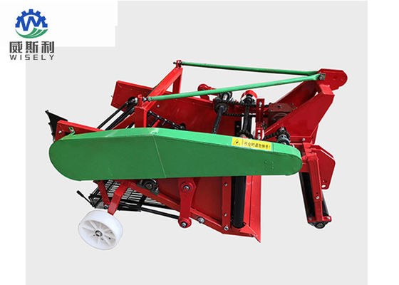 China 2 Row Automatic Peanut Harvesting Machine Tractor Drives 300-400 Mm Harvest Depth supplier