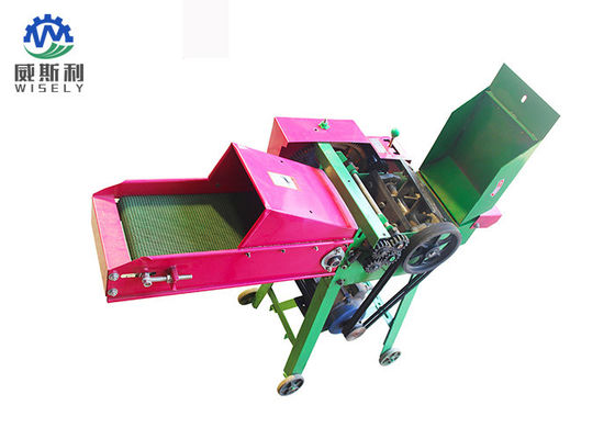 China Automatic Animal Food Cutting Machine , Power Driven Corn Stalk Cutter supplier