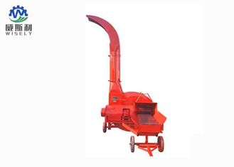 China High Speed Chop Cutter Machine , Diesel Engine Chaff Cutter For Wheat Straw supplier
