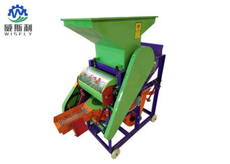 China High Seed Peanut Shelling Machine For Home Carbon Steel Body Material supplier