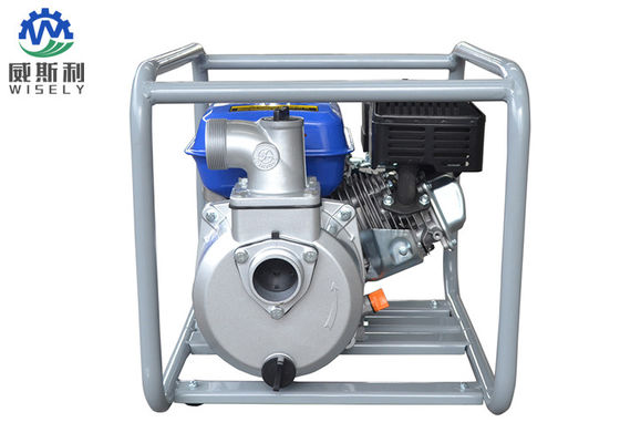 China 6.5hp Gas Engine Sprayer Pump / Gas Powered Irrigation Pump For Farms supplier