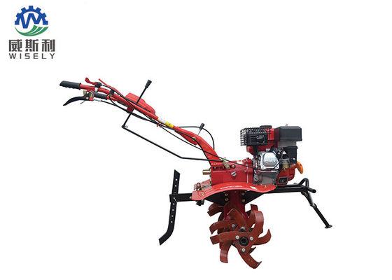 China Large Scale Farming Gasoline Mini Tiller Tractor Mounted FC170 Engine Type supplier