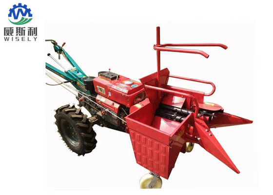Commercial Two Wheel Tractor Cultivator Mini Wheat Rice Harvesting Machine