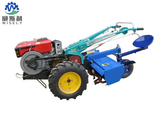 Standard Twin Walk Behind Tractor For Corn Harvester 22hp 0.6L/H Fuel Consumption