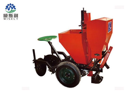 Compact Agriculture Planting Machine 4 Row 3 Point Potato Planter Stable Work