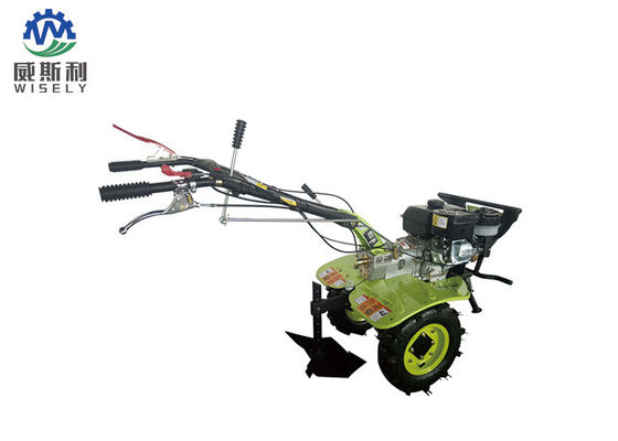 Small Agriculture Farm Equipment Gas Powered Hand Tiller  With Weeding Ridging Ditching