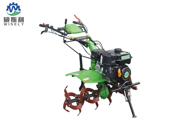 Rotary Gasoline Mini Tiller Rotovator 6.5 Hp Low Power 1500 X 1000 X 800mm Dimension