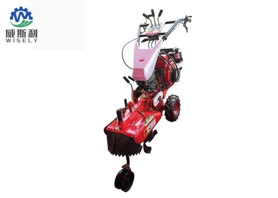 5.6 Kw Mini Tiller Machine Agricultural Green Onion Trencher Walking Stability