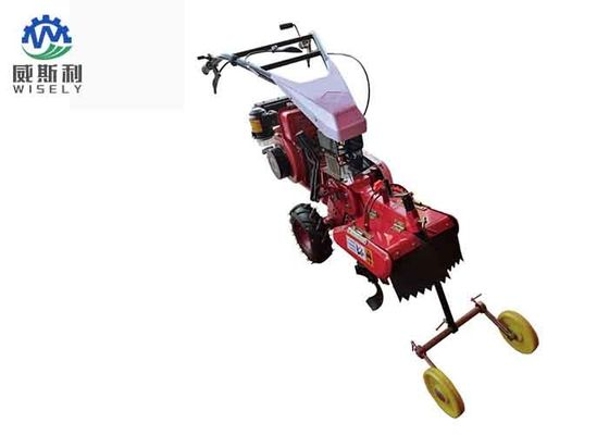 Two Wheel Drive Gasoline Mini Tiller , Crop Trencher Garden Rotary Tiller