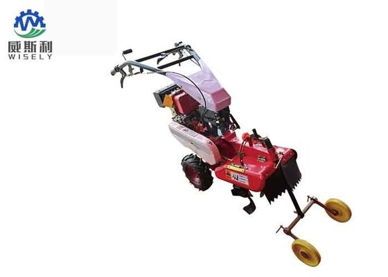 Trigonometric Belt Gasoline Mini Tiller Agricultural Trencher High Performance