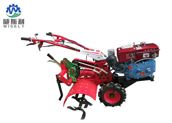 Red Mini Agriculture Farm Machinery Power Tiller Diesel Engine 5.67 KW