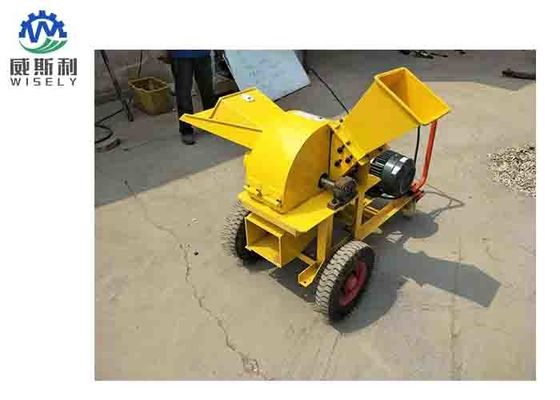 Alloy Steel Plate Wood Chipper Machine Wood Splitting Machine With Double Spring Screw