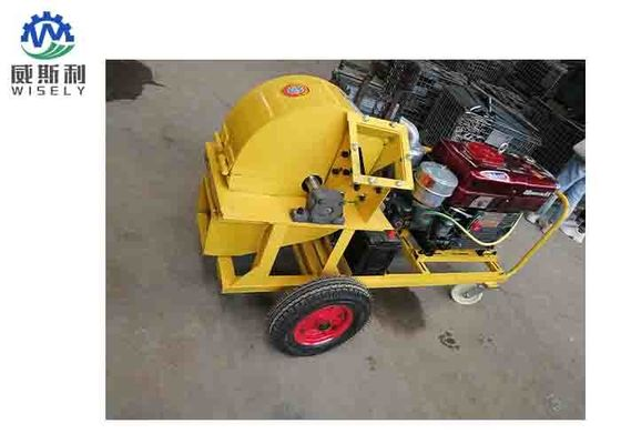 Electric Bandit Wood Chipper Machine High Efficiency 15hp 1250 X 1300 X 950mm
